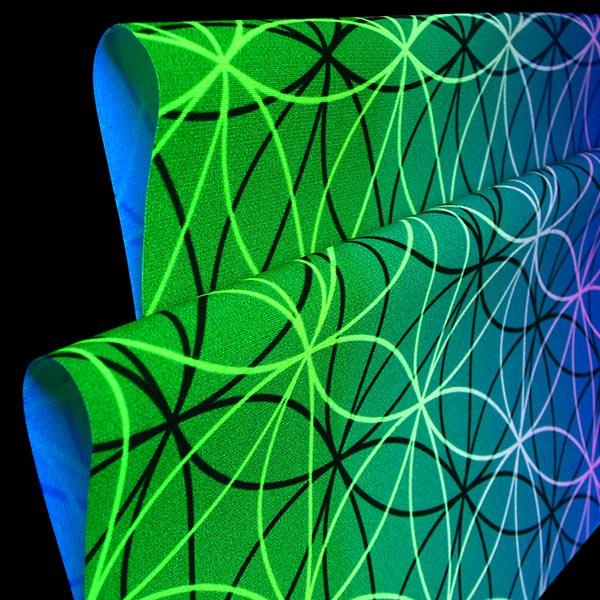 Neon Stoff druck, Neon druck