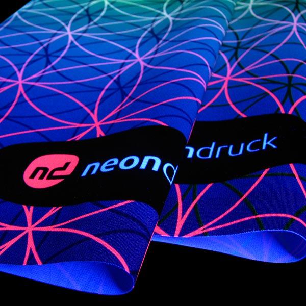 Neon stoff druck