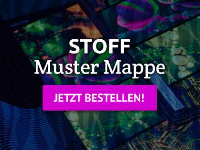 Neondruck Muster Mappe STOFF – jetzt bestellen!