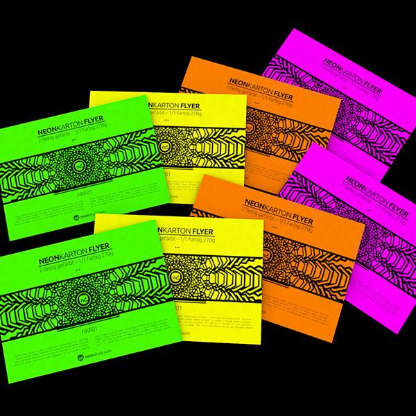 Neonkarton Flyer