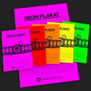 Neon PLAKATE